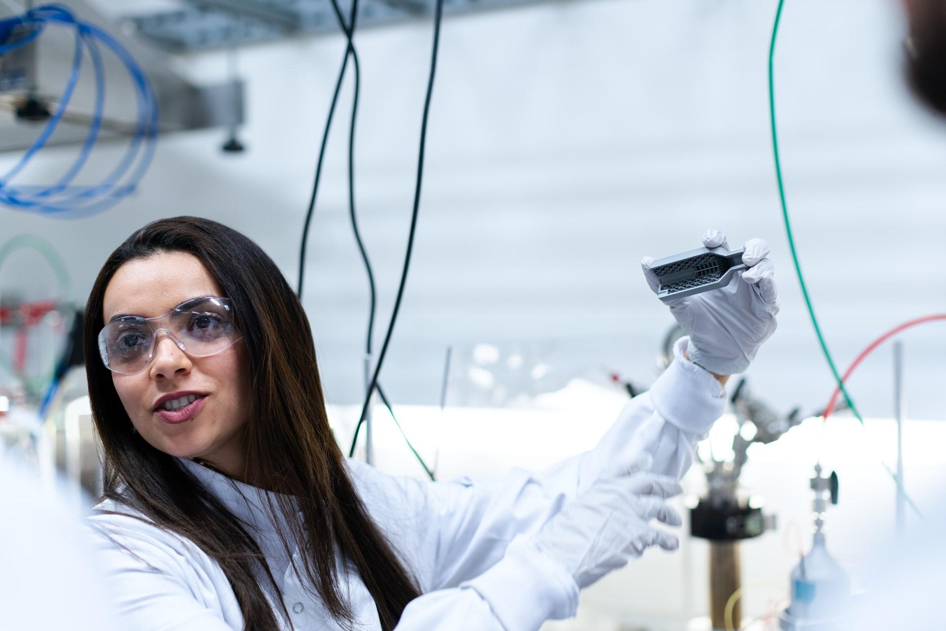 scientist-woman